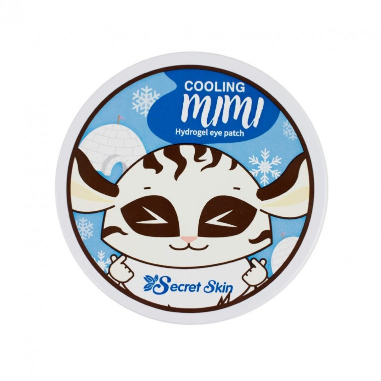 SECRET SKIN Cooling Mimi Hydrogel Eye Patch Охлаждающие патчи для глаз