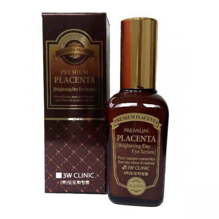 3W Clinic Premium Placenta Brightening Day Eye Serum Сыворотка для глаз с экстрактом плаценты