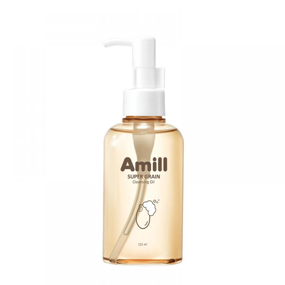 AMILL Super Grain Cleansing Oil Гидрофильное масло с зерновыми экстрактами, 125ml