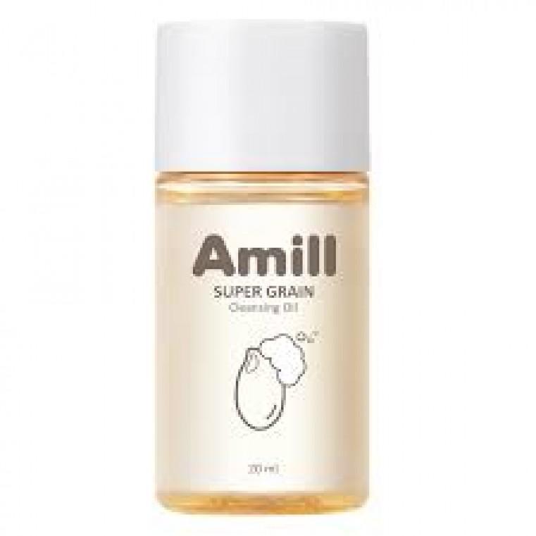 AMILL Super Grain Cleansing Oil Гидрофильное масло с зерновыми экстрактами, 20ml