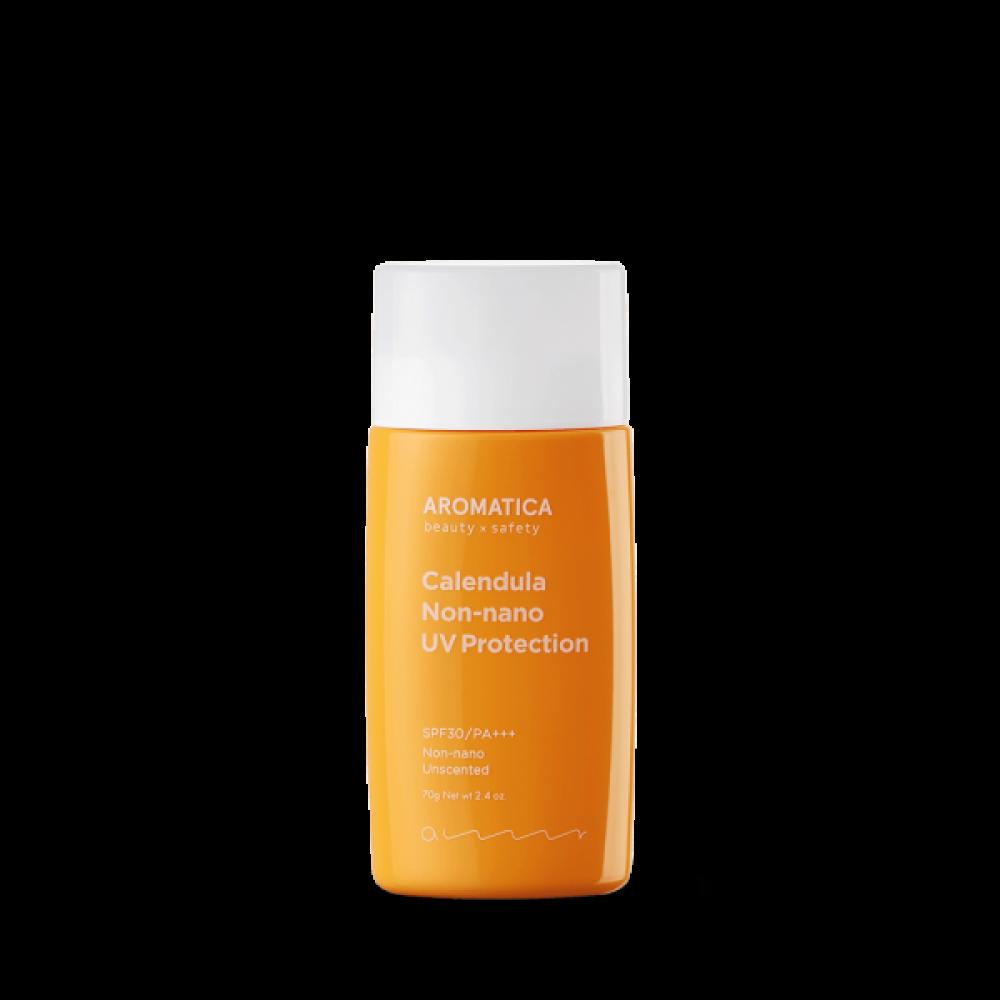 AROMATICA Calendula NON-NANO UV Protection Unscented Органический солнцезащитный крем SPF30/PA+++