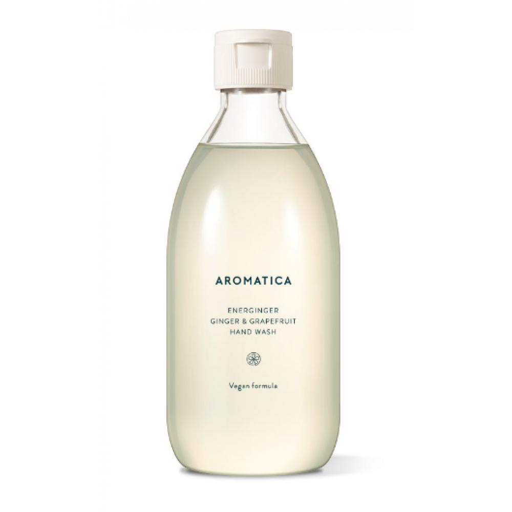 Aromatica Energinger Hand Wash Ginger & Grapefruit Жидкое мыло для рук с экстрактом имбиря и грейпфрута