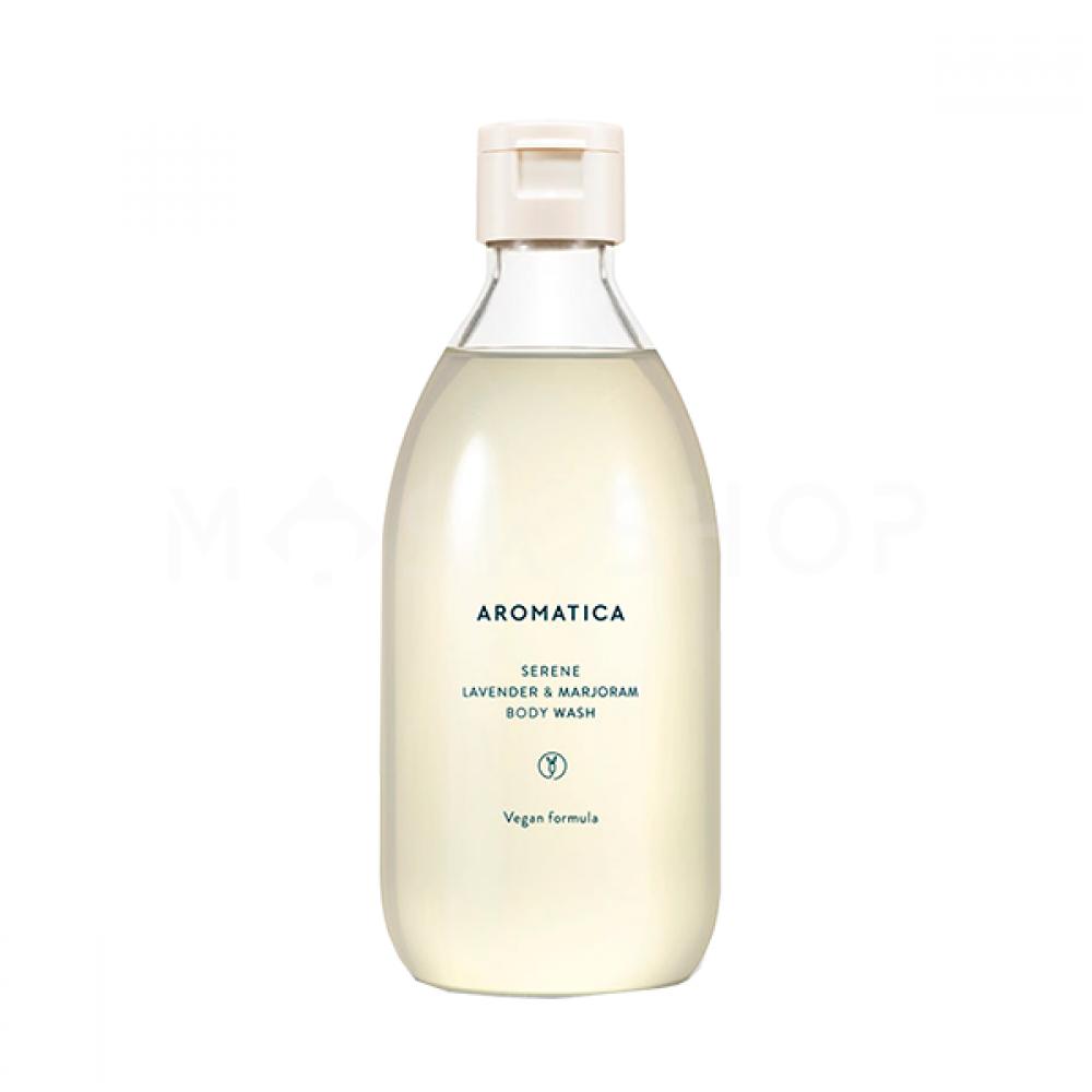 Aromatica Serene Lavender & Marjoram Body Wash Гель для душа с лавандой и майораном