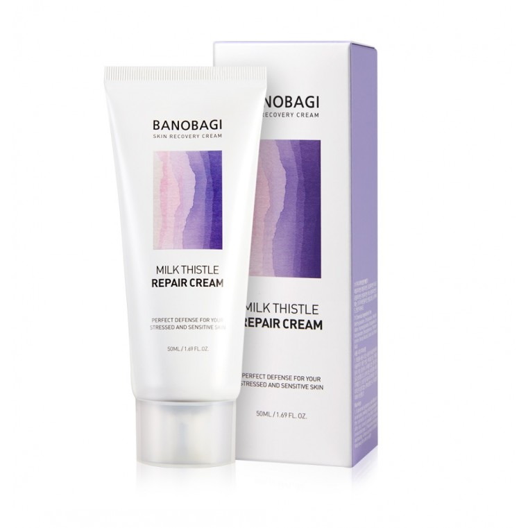 BanoBagi Milk Thistle Repair Cream Крем восстанавливающий с молочным чертополохом для чувствительной кожи