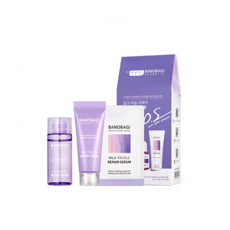 BanoBagi S.O.S Skin Repair Solution Promo set Промо набор для чувствительной кожи