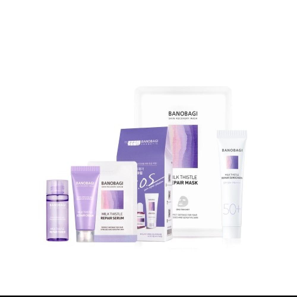 BanoBagi S.O.S Skin Repair Solution Promo set MASK Промо набор для чувствительной кожи