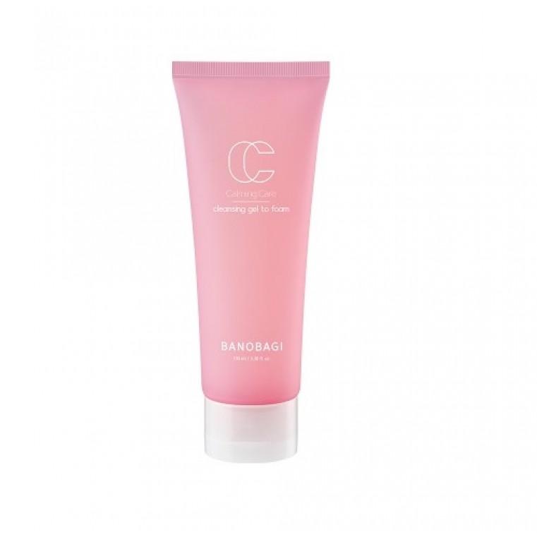 Banobagi Calming Care Cleansing Gel To Foam Очищающий гель для чувствительной кожи