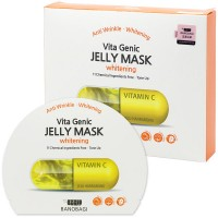 Vita Genic Whitening Jelly Mask - Маска тканевая с витамином С на основе липосомного желе для сияния
