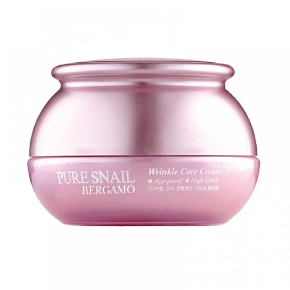 Pure Snail Wrinkle Care Cream Крем с муцином улитки омолаживающий