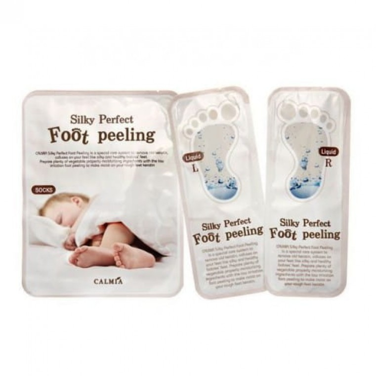 Calmia Silky Perfect Foot Peeling Пилинг - носочки для ног