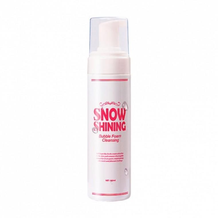 Coringco Snow Shining Bubble Foam Cleansing Пенка для умывания и сияния кожи Кислородная