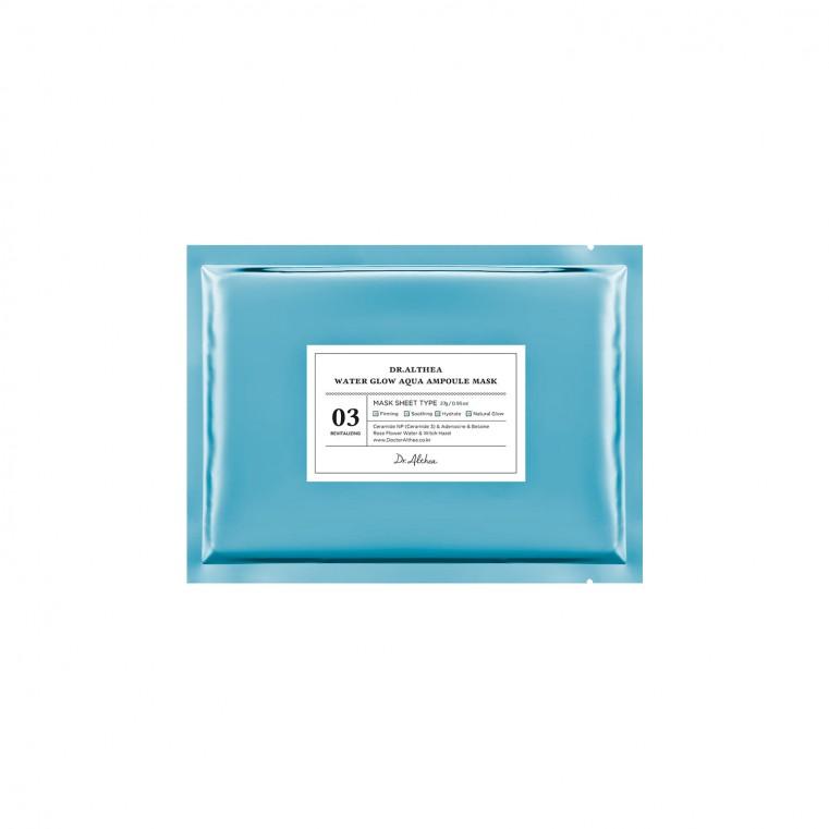 Dr. Althea Water Glow Aqua Ampoule Mask Маска тканевая ежедневная  восстанавливающая и увлажняющая