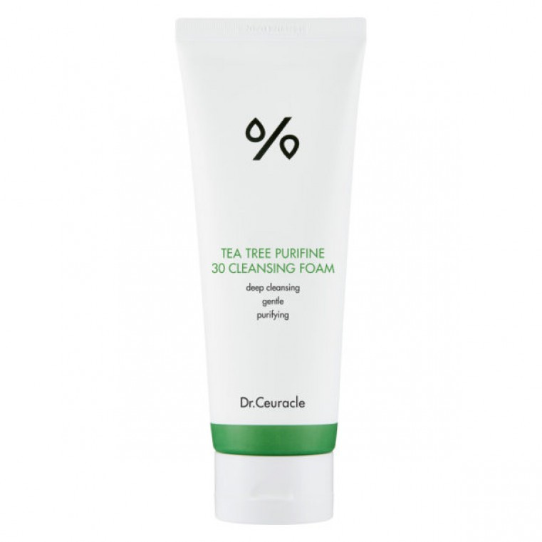 Dr. Ceuracle Tea Tree Purifine 30 Cleansing Foam Гель-пенка для умывания с экстрактом чайного дерева