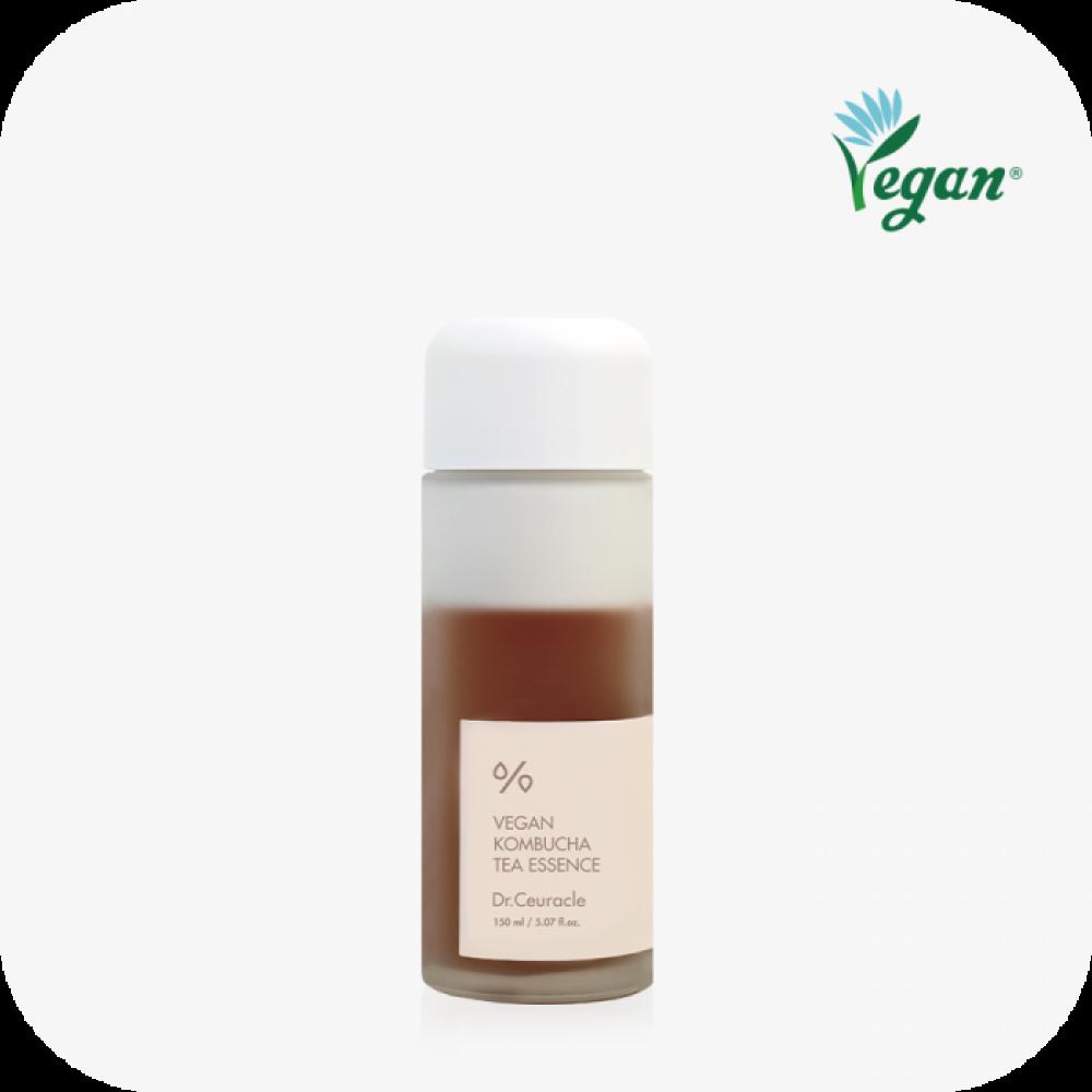 Dr. Ceuracle Vegan Kombucha Tea Essence Веганская крем-эссенция с чаем комбуча