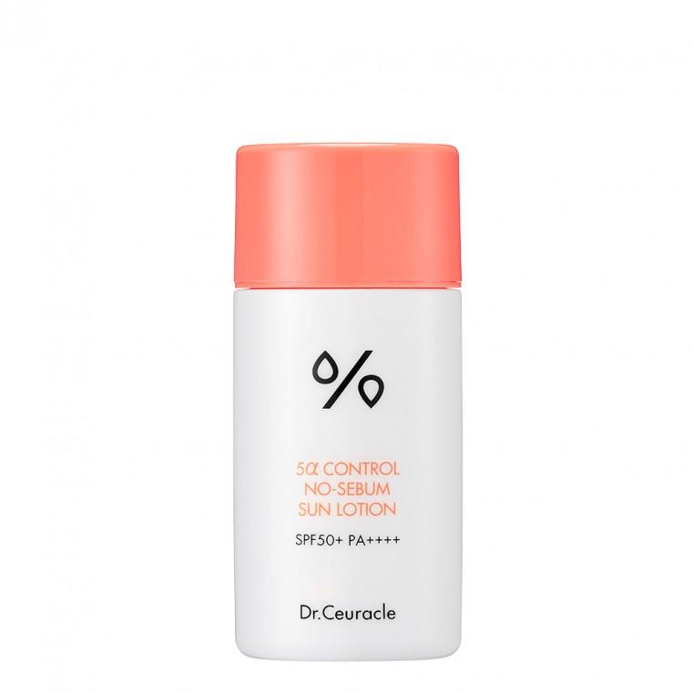 Dr. Ceuracle 5α Control No Sebum Sun Lotion Солнцезащитный лосьон для проблемной кожи