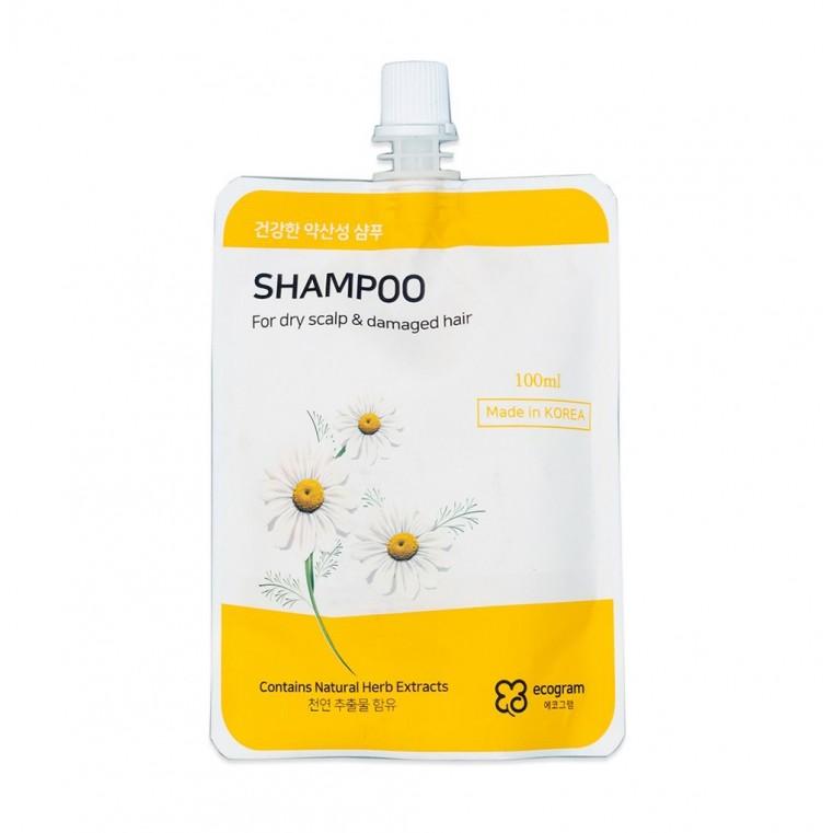 Ecogram Shampoo  Шампунь для сухой кожи головы и повреждённых волос