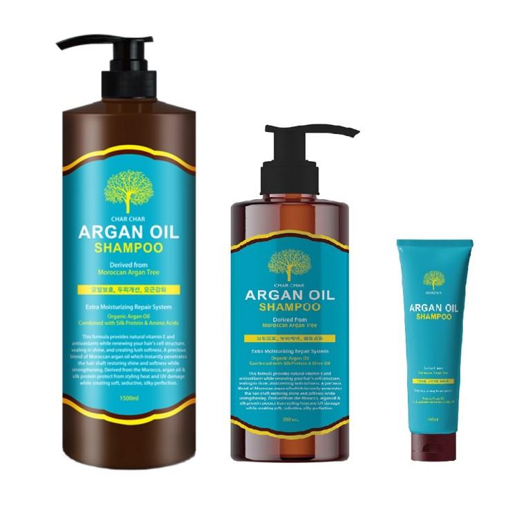 EVAS Char Char Argan Oil Shampoo Шампунь с аргановым маслом