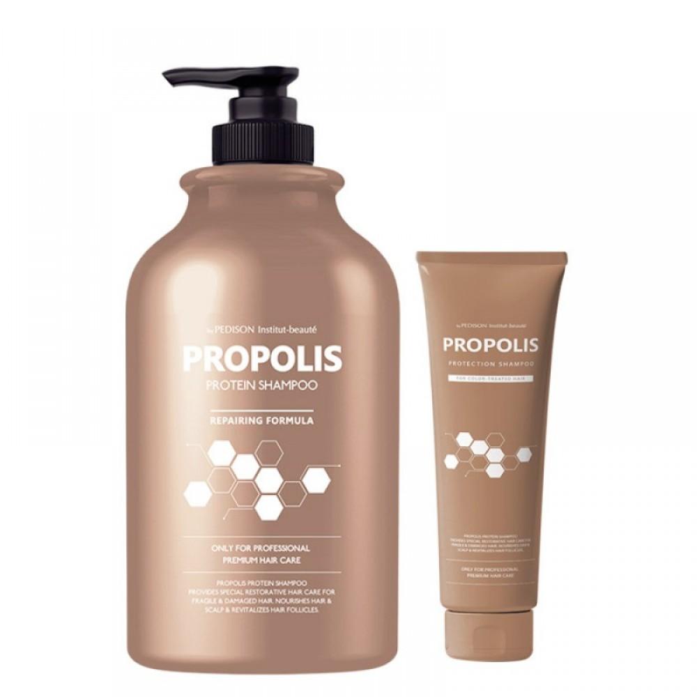 EVAS Pedison Institut-beaute Propolis Protein Shampoo Шампунь с прополисом для хрупких и поврежденных волос
