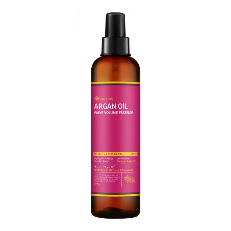 EVAS Char Char Argan Argan Oil Wave Volume Essense Эссенция для волос с аргановым маслом