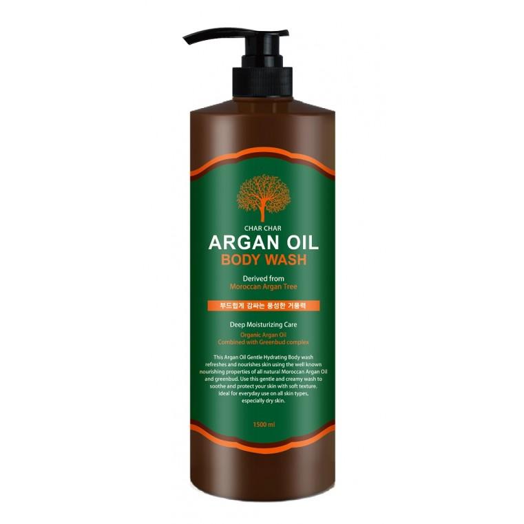 EVAS Char Char Argan Oil Body Wash Гель для душа с аргановым маслом