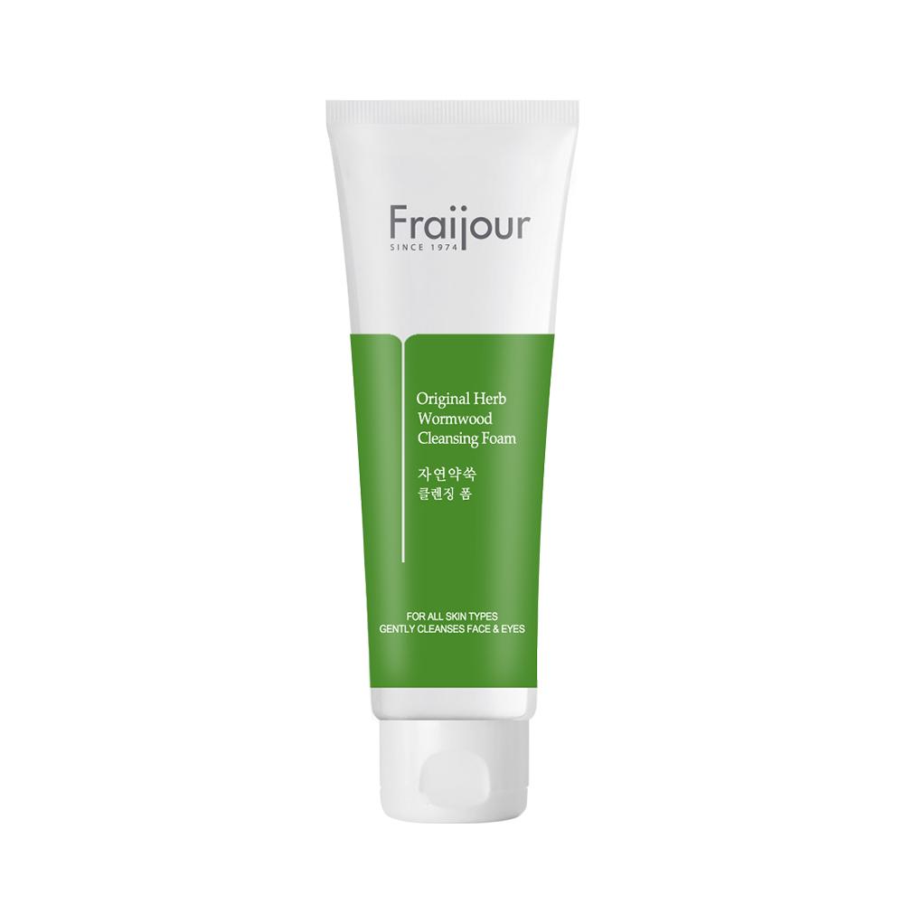 Evas Fraijour Original Herb Wormwood Cleansing Foam Очищающая пенка с полынью для проблемной кожи