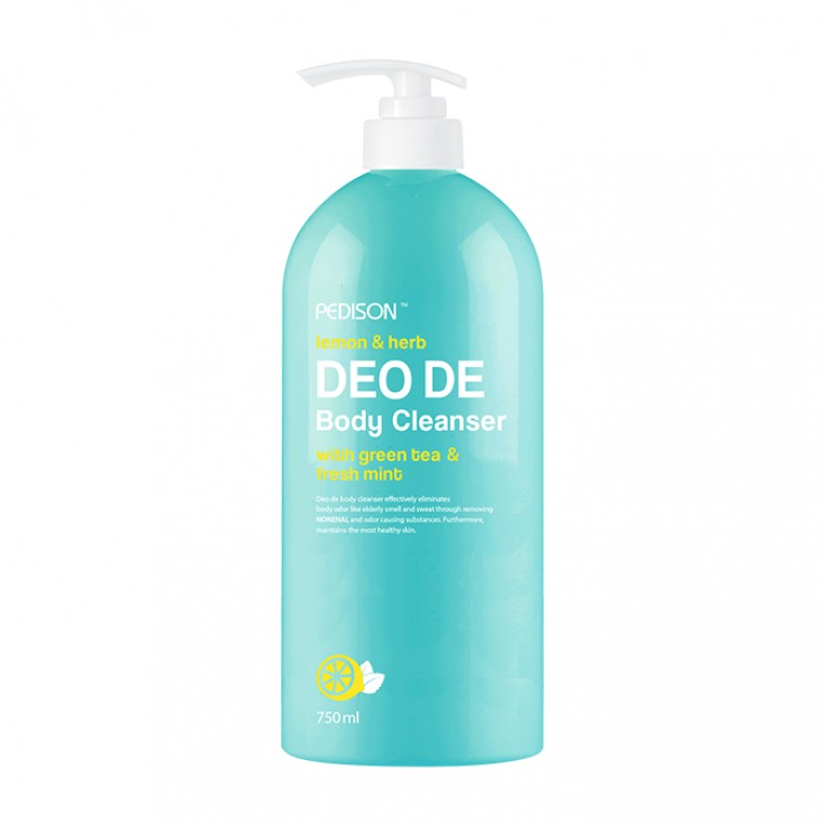 Pedison Lemon & Herb Deo De Body Cleanser Гель для душа дезодорирующий