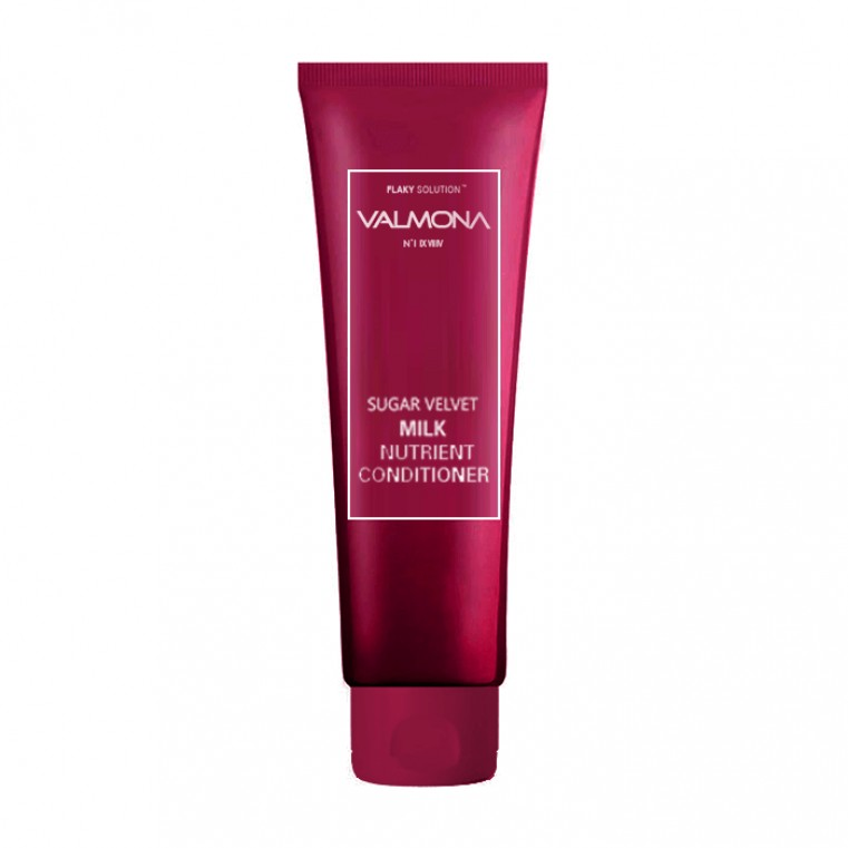 Valmona Sugar Velvet Milk Nutrient Conditioner Кондиционер для увлажнения волос с комплексом из молока и экстрактов ягод
