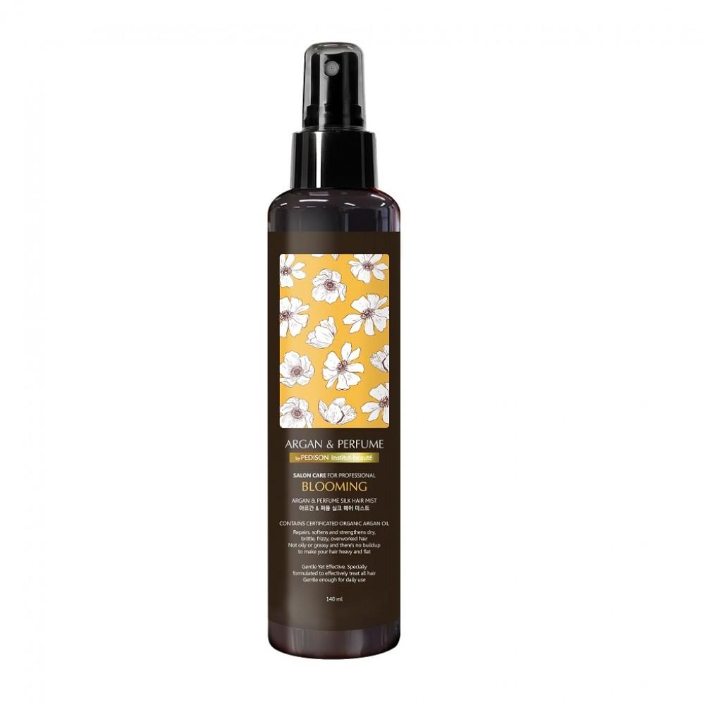Pedison Institut Beaute Argan & Perfume Silk Hair Mist Blooming Парфюмированный спрей для волос с аргановым маслом