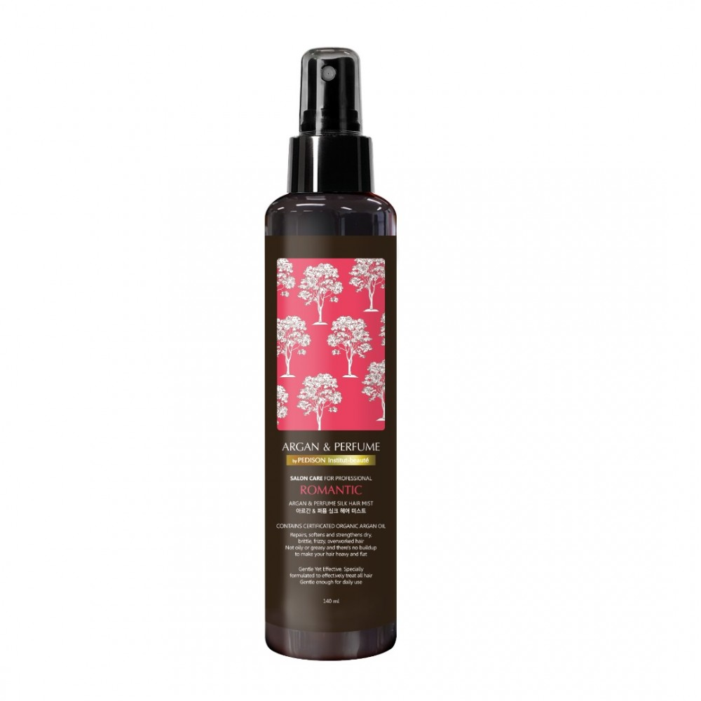 Pedison Institut Beaute Argan & Perfume Silk Hair Mist Romantic Парфюмированный спрей для волос с аргановым маслом