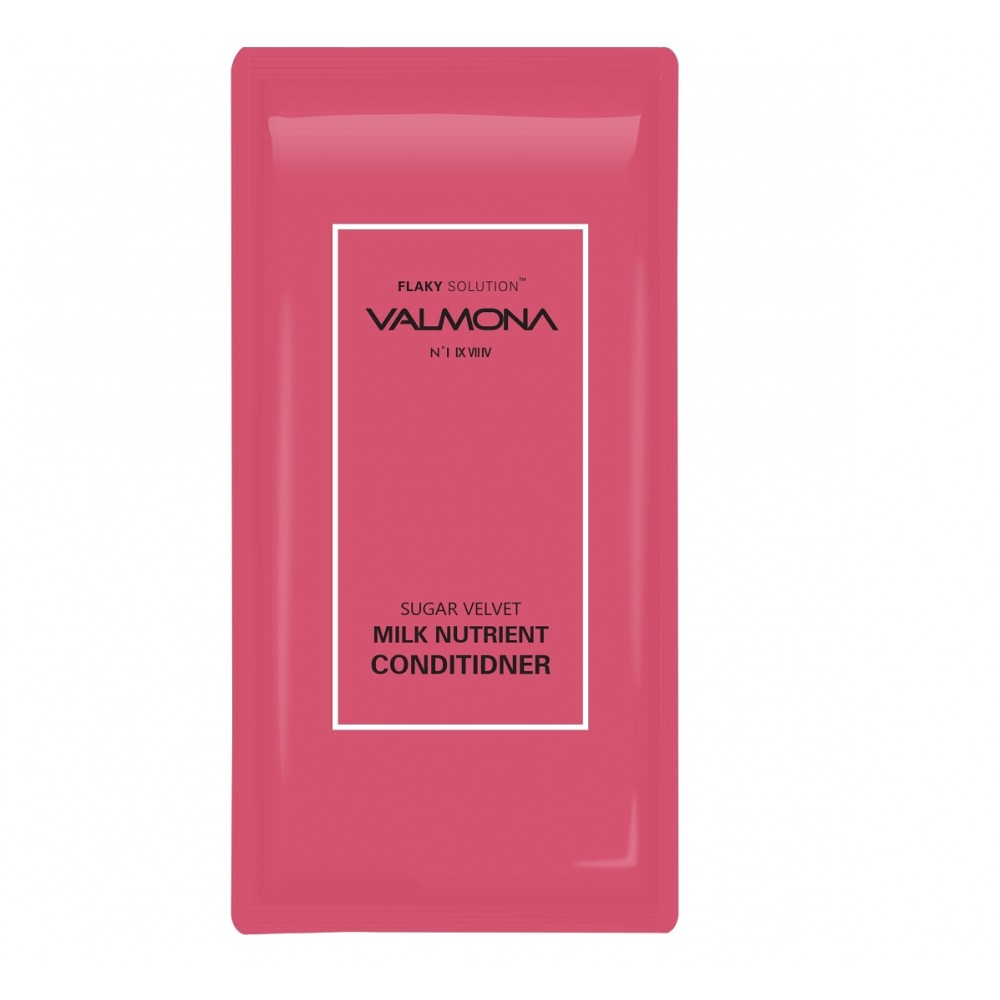 Valmona Sugar Velvet Milk Nutrient Conditioner Кондиционер для увлажнения волос с комплексом из молока и экстрактов ягод, 10мл.