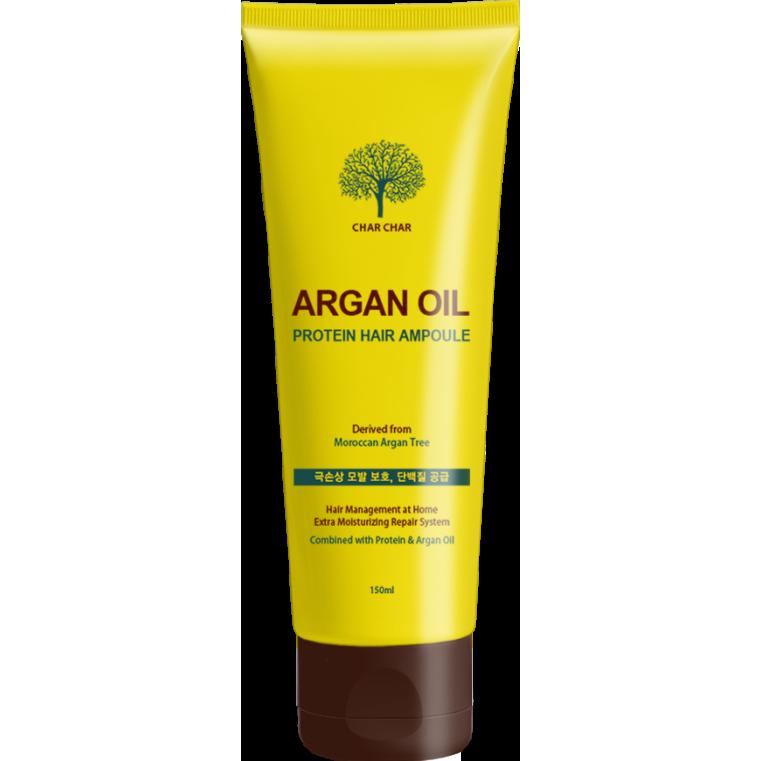 EVAS Char Char Argan Oil Protein Hair Ampoule 150ml Сыворотка с аргановым маслом для волос