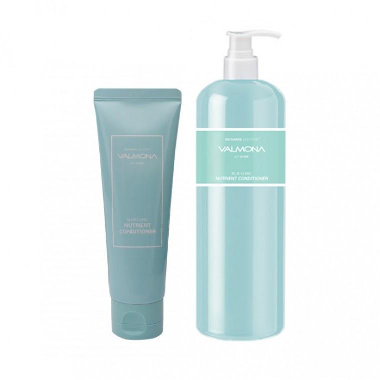 Valmona Recharge Solution Blue Clinic Nutrient Conditioner Кондиционер для волос восстанавливающий увлажняющий