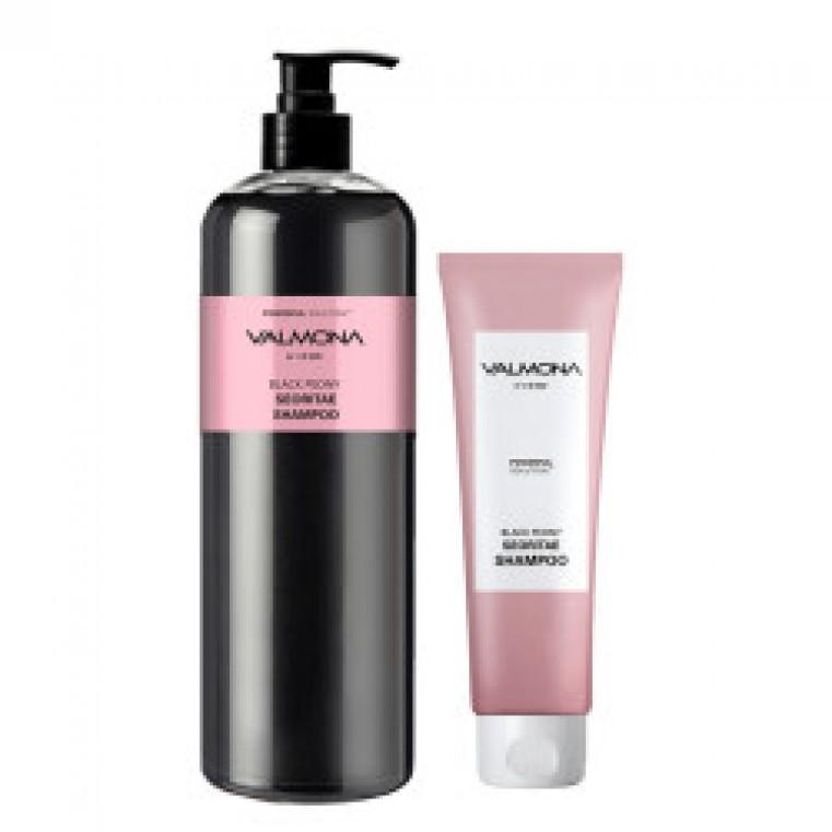 Valmona Powerful Solution Black Peony Seoritae Shampoo Шампунь для укрепления и предотвращения выпадения волос с экстрактом черных бобов