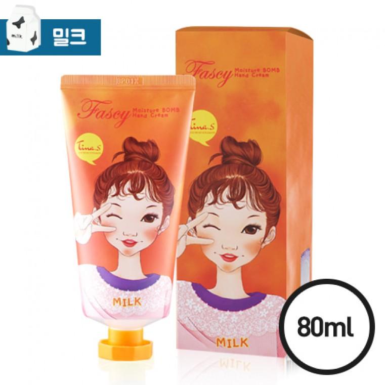 Moisture Bomb Hand Cream Milk Крем для рук увлажняющий - Молоко