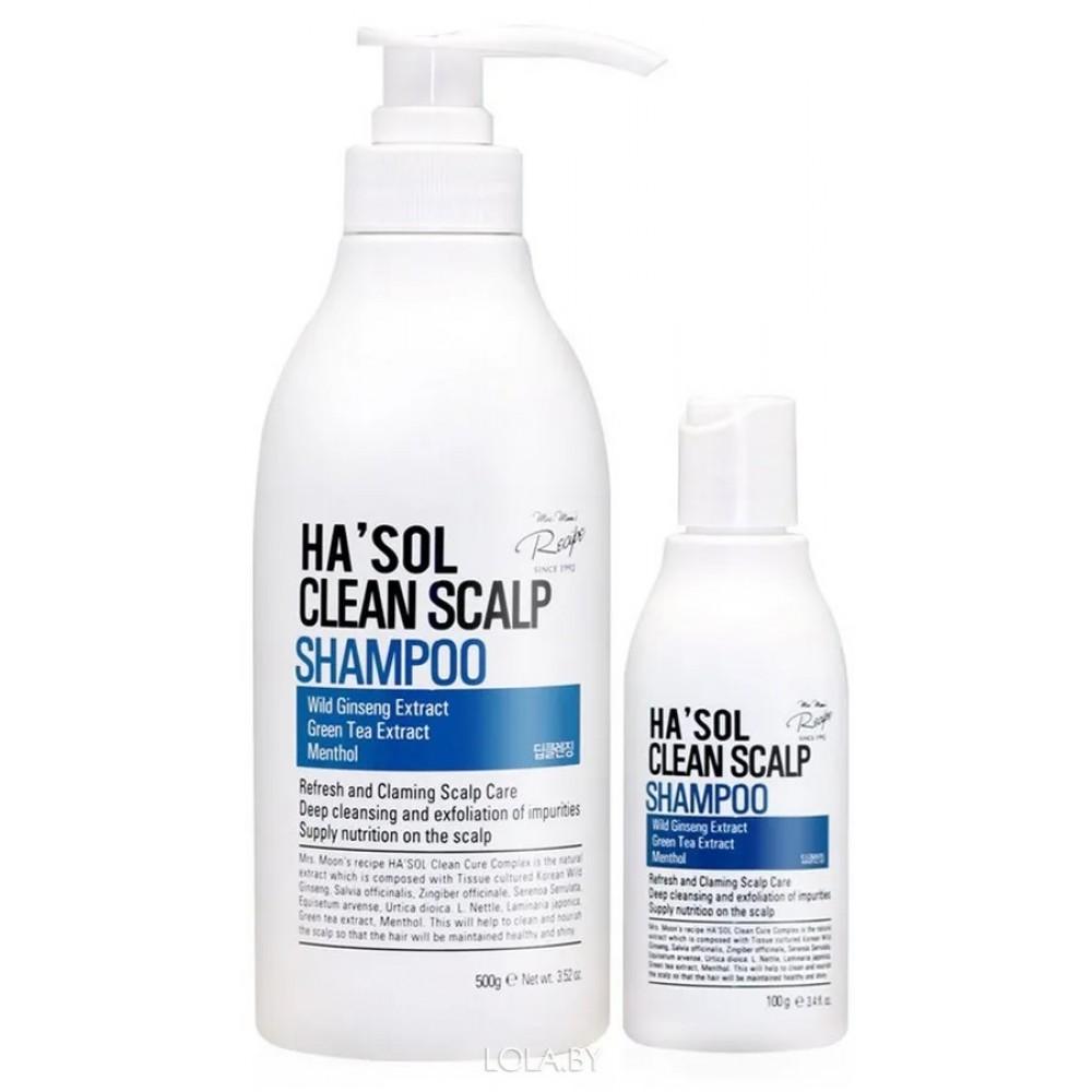 HASOL Clean Scalp Shampoo Глубокоочищающий шампунь