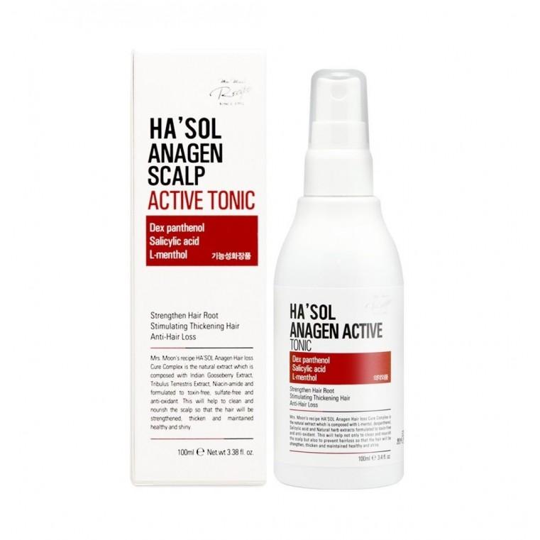 Ha'sol Anagen Active Tonic Тоник стимулирующий рост волос
