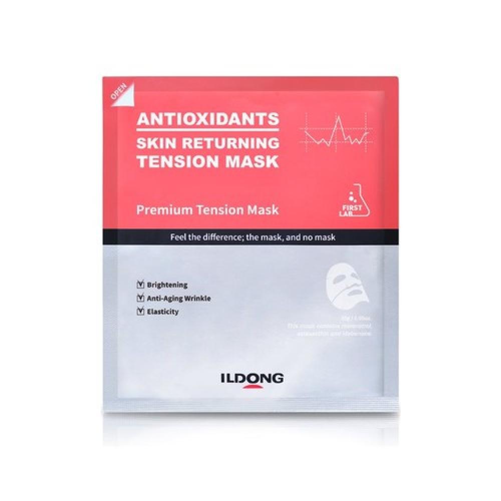 Ildong First Lab Skin Returning Tension Mask Антивозрастная гидрогелевая маска  антиоксидантами