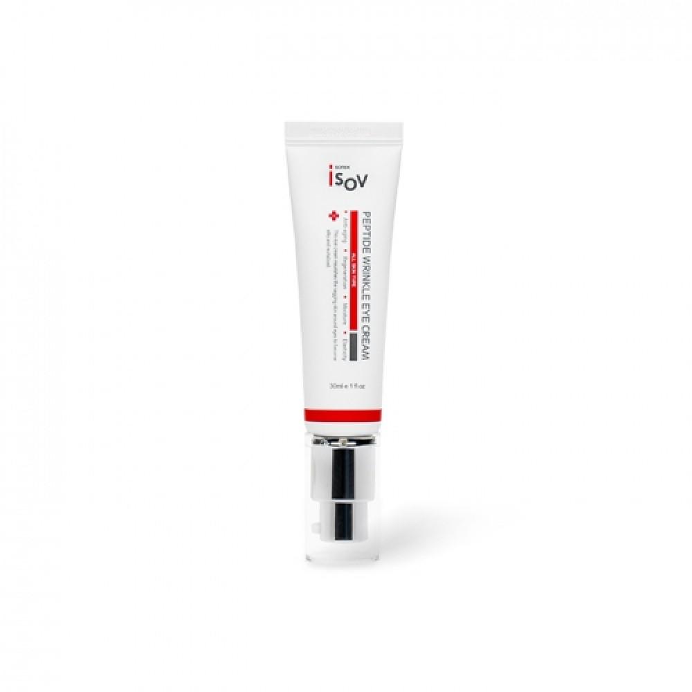 Isov Peptide Wrinkle Eye Cream Концентрированный антивозрастной крем для век с пептидами