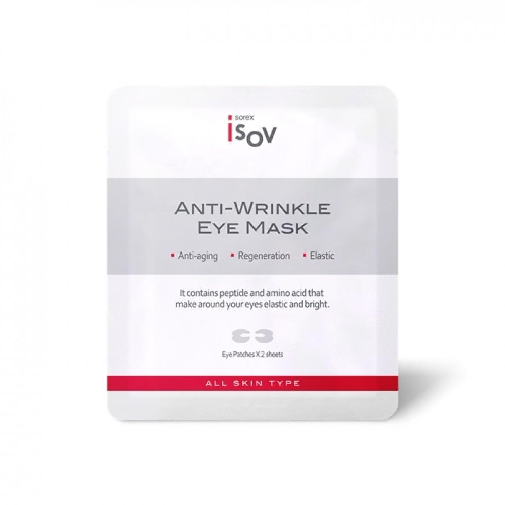 Isov Anti-Wrinkle Eye Mask Лифтинг-патчи на верхнее и нижнее веко