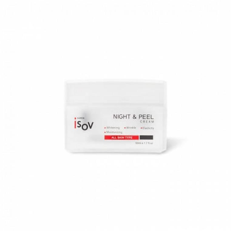 Isov Night and Peel Cream Ночной капсульный пилинг-крем с фруктовыми экстрактами