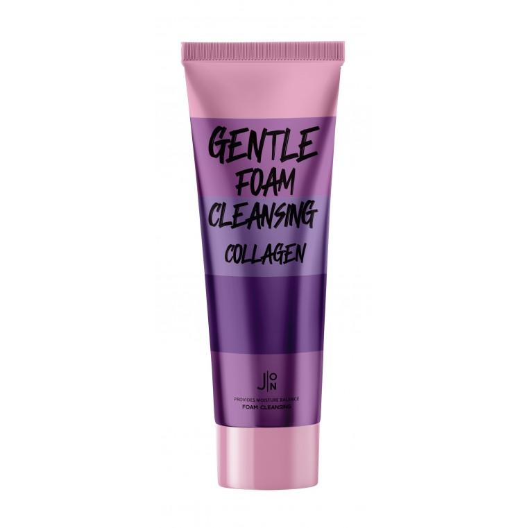 J:ON Gentle Foam Cleansing Collagen Пенка для умывания с коллагеном