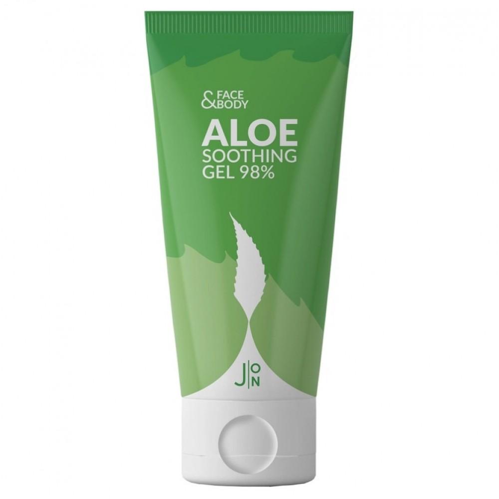 J:ON Face & Body Aloe Soothing Gel 98% Гель универсальный с алое