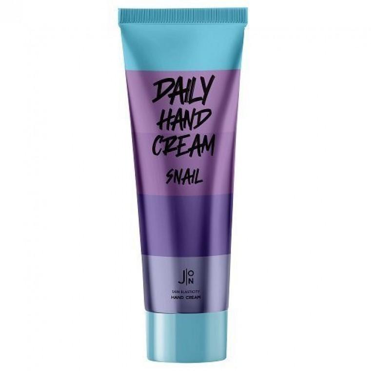 J:ON Daily Hand Cream Snail Крем для интенсивного увлажнения и восстановления кожи рук с муцином улитки