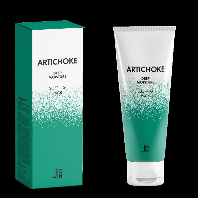 J:ON Artichoke Deep Moisture Sleeping Pack Ночная увлажняющая маска с артишоком, 50мл