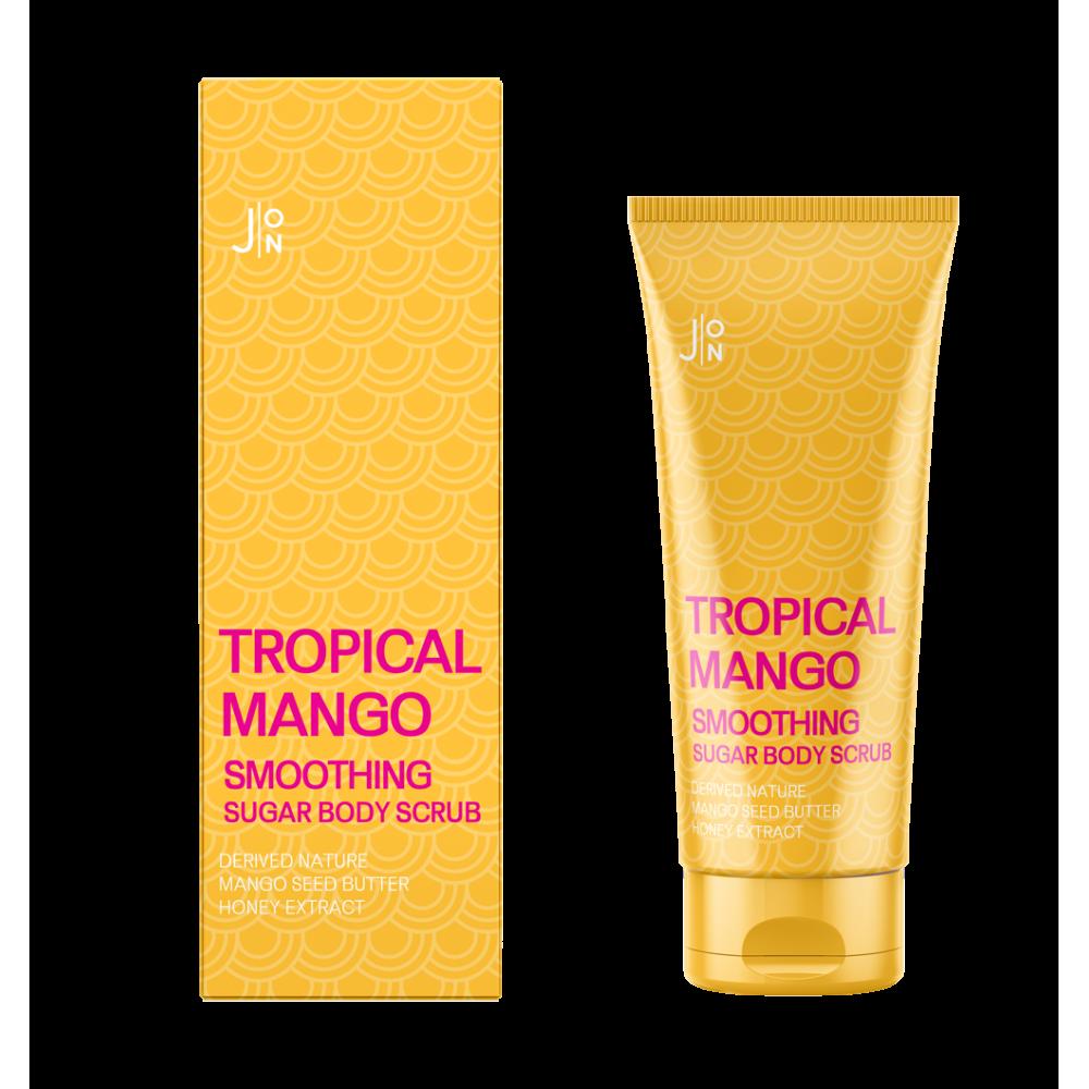 J:on Tropical mango smoothing sugar body scrub Скраб для тела с манго