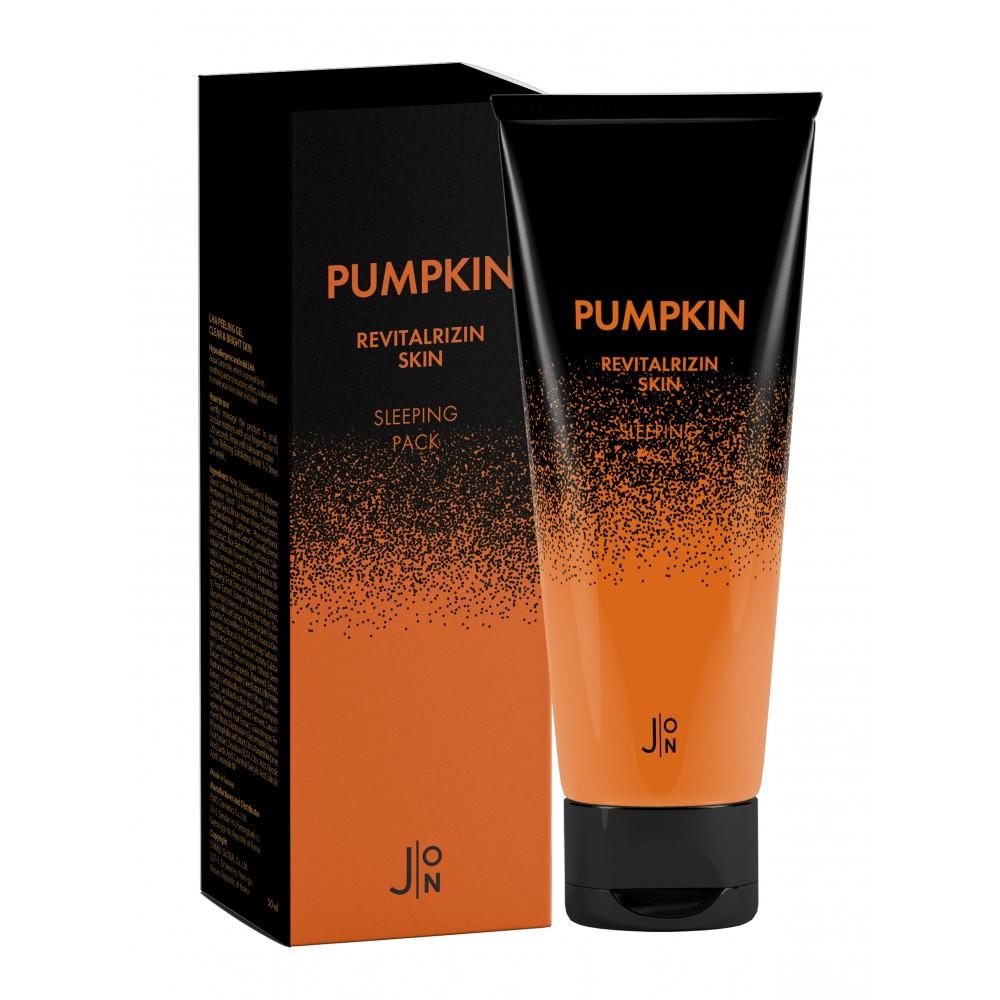J:ON Pumpkin Revitalizing Skin Sleeping Pack Восстанавливающая ночная маска для лица с тыквой, 50мл