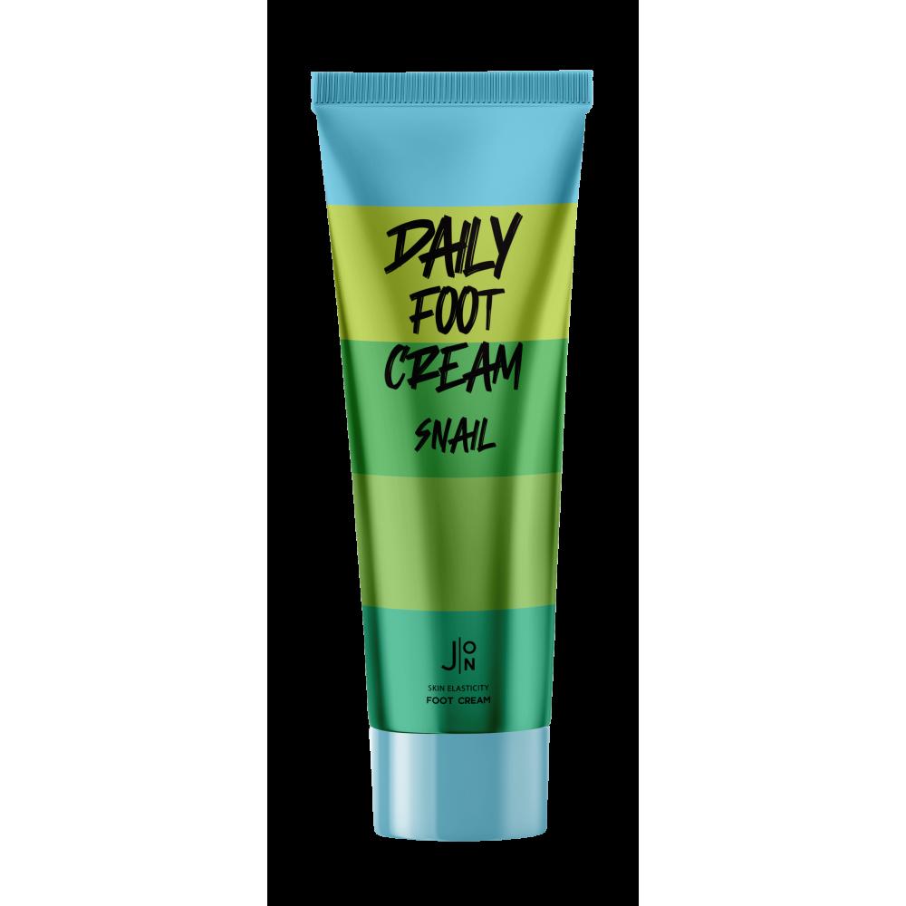 J:ON Snail Daily Foot Cream Ежедневный крем для ног с муцином улитки