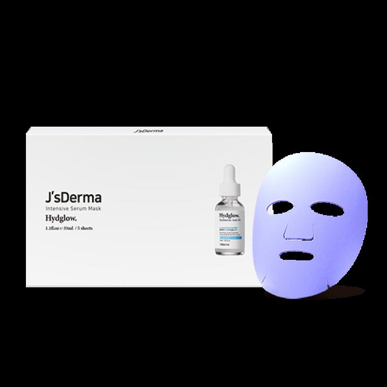 Intensive Serum Mask HydGlow Успокаивающая и увлажняющая маска с азуленом и гиалуроновой кислотой