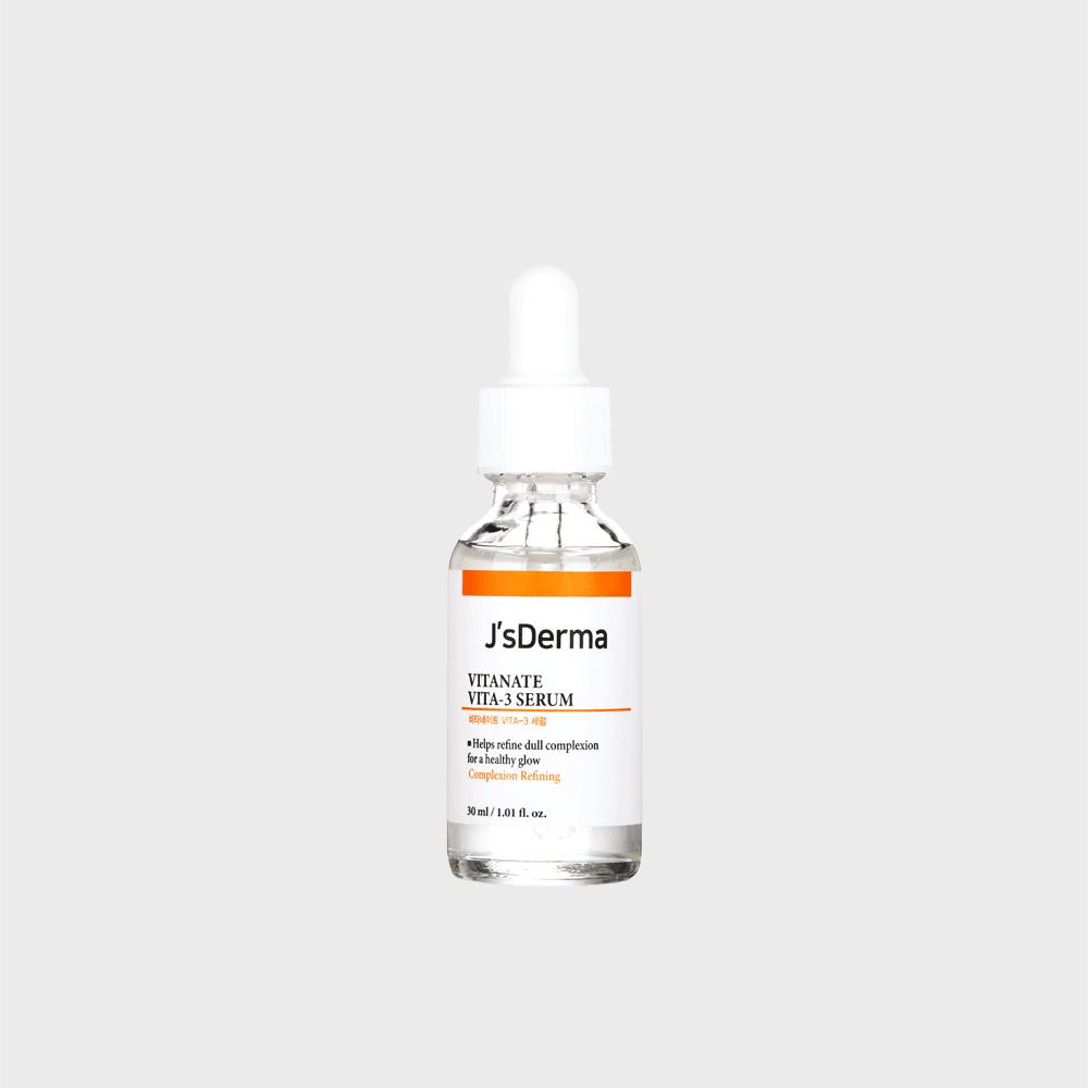 J'S Derma Vitanate Vita-3 Serum Сыворотка с ниацинамидом для выравнивания тона