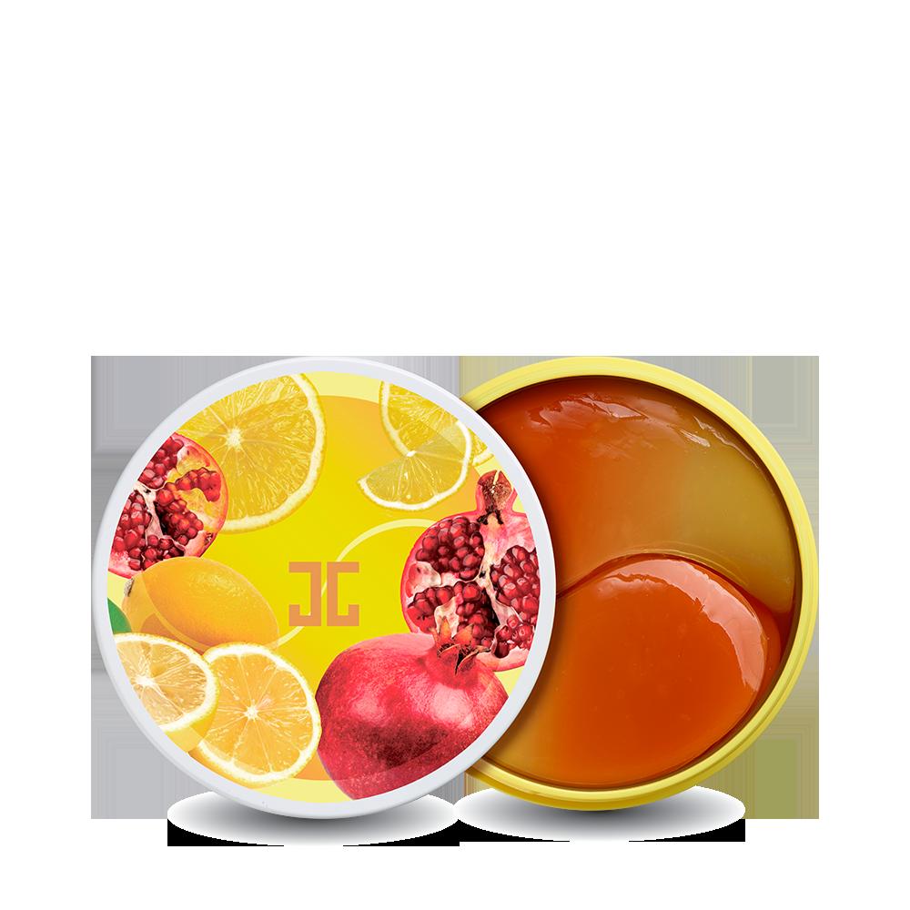 JayJun Pom Lemon Duo Eye Gel Patch Осветляющие патчи от тёмных кругов